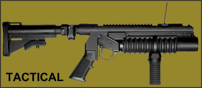 M203PI Tactical Mounting system allows for M203 40mm firepower to be used as a solitary weapon.